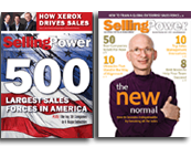 cover image - Selling Power 500 and 50 Best Companies to Sell for