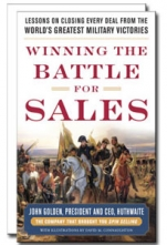 Winning the Battle for Sales: Lessons on Closing Every Deal from the World's Greatest Military Victories Cover