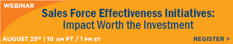 ZS Associates - Sales Force Effectiveness Initiatives - Impact Worth the Investment