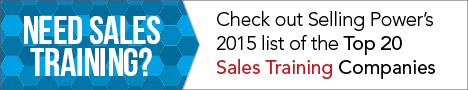 Selling Power - Top 20 Sales Training Companies (2015)
